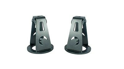 """Land Rover Front Turrets H/Duty 2"""" LOWERED  WILD BEAR Defender Disco 1 RRC"""