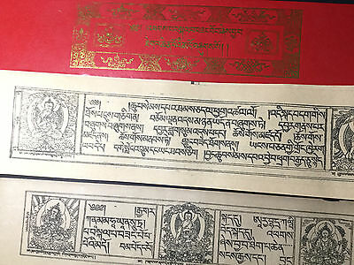 Large Print Buddhist Sutra Tibetan Pray Book