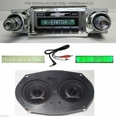 1965 Impala & Bel Air Stereo Radio + Dash Speaker + Free AUX Cable w/ AC 230D