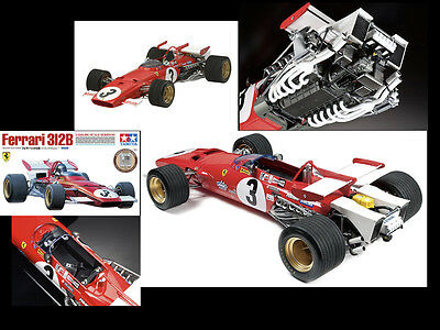 TAMIYA 1/12 Big Scale Series No.48  Ferrari 312 B (with etching parts)