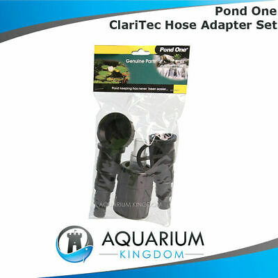11680 Pond one ClariTec Hose Adapter Set 3000 5000 10000 15000 UV Inlet Outlet