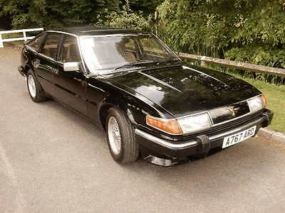 Rover Sd1 Vitesse *dutch Auction*  3500 Manual. Black, Full Mot,