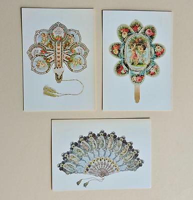 Three National Postal Museum Postcards Victorian Valentines 30A