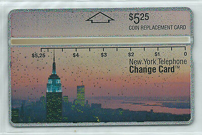 USA - NYNEX D6 - 5,25 $ Empire State Building 2 + Cover - VOLL MINT +++