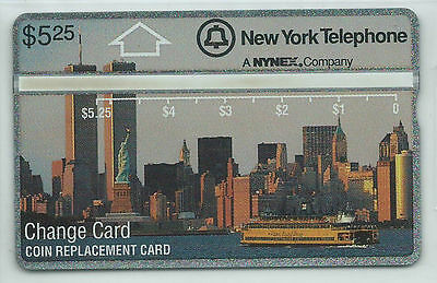 USA - NYNEX D1  5,25 $ Skyline 1. Issue WTC Twin Towers + Liberty - NEU ** MINT