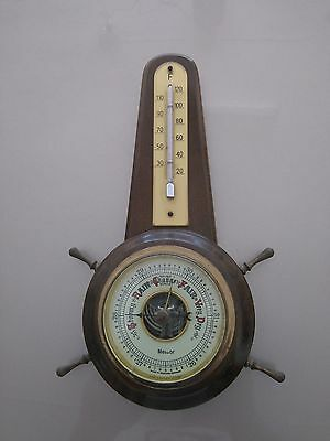 ANTIQUE BAROMETER 1950s MADE IN WEST GERMANY