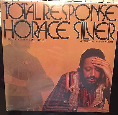 """NUOVO Horace Silver Quintet """"Total Response"""" Blue Note records VinyL lp SEALED"""