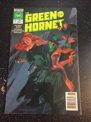 Green Hornet#1 Awesome Condition 8.0(1989) Steranko Cover!!