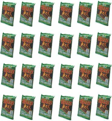 Fuel Express Natural Wood Fire Stove Barbecue Firelighters Pack Of 576