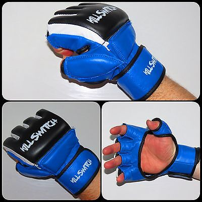 Killswitch MMA Gloves Grappling UFC Boxing Fight Muay Thai Training 4 Colours