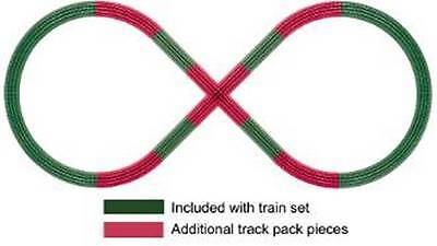 Figure 8 Add On Track Pack for FasTrack, Lionel 6-12030