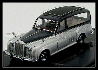 wonderful modelcar ROLLS ROYCE SIMPSON & SLATER HEARSE 1957 -silver/black - 1/43