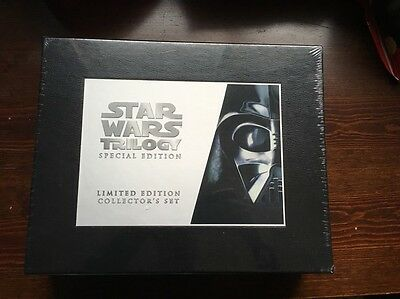 Star Wars Special Edition VHS Trilogy OOP RARE Limited Collector's Vintage NEW