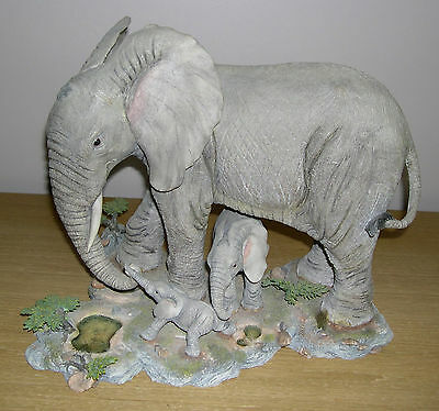 Large Country Artists Elephant New Arrival Ltd Edn Tuskers by Barry Price 2002