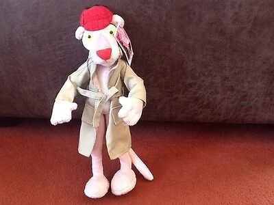 pink panther bendable soft toy
