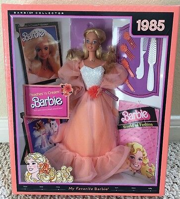 MY FAVORITE Barbie PEACHES N CREAM BARBIE NIB 1985 Reproduction