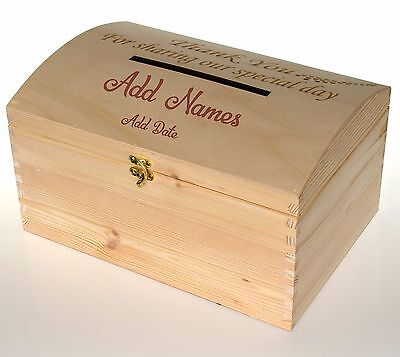 Wedding card post box Wedding Box Wedding POST BOX, ADD NAME AND DATE
