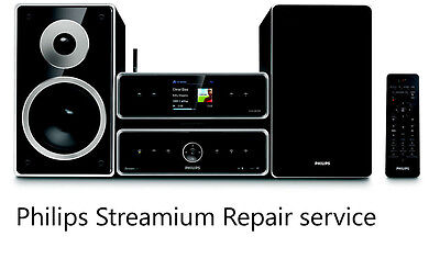 Philips Streamium repair service MCI500H WAC700 WACS7500 Kingwall ps131 300