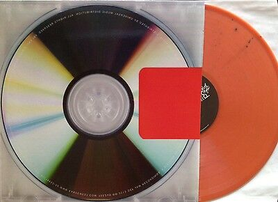 Kanye West ‎- Yeezus - Limited Edition Orange/Black Vinyl LP - New