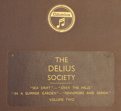 "LONDON PHILH. & BEECHAM ""The Delius Society"" Volume Two,Over the Hills .... A223"