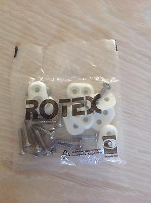 Dakine Foot Strap Fixings by Rotex , Brand New & Still Sealed
