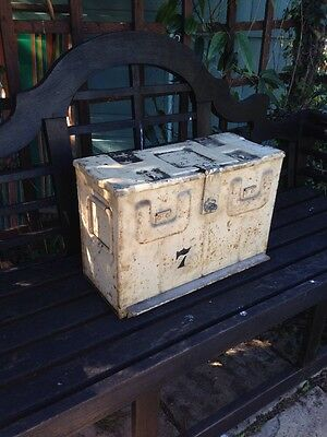 Vintage British Military Ammo Box 1944 MPB Metal Box