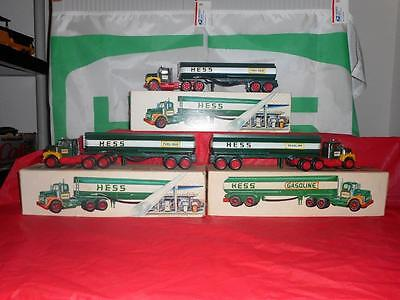 1968 Hess Tanker N/m. Gallery Shows The 74 & 72& 68 Breaking The Set.