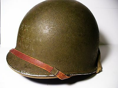WW2 Original U.S. Army Helmet Steel Pot & Hawley Liner...vintage 1942