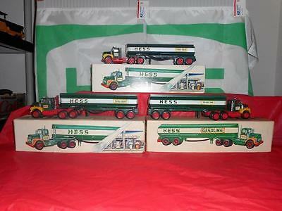 1974 Hess Tanker Mint. Gallery Shows The 74 & 72& 68 Breaking The Set.
