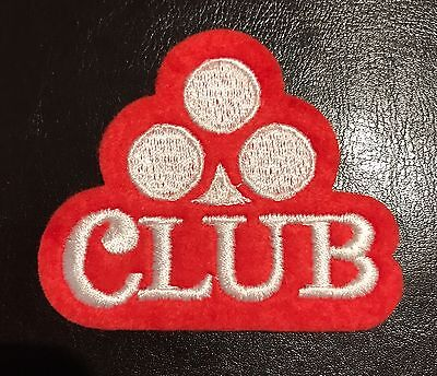 Vintage CLUB BEER Patch/Badge NEW OLD STOCK