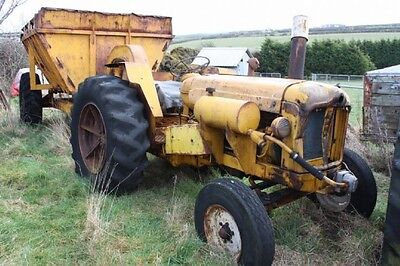 Rare Industrial Fordson Major Front Mounted Oil Pump. Note tractor Not Included