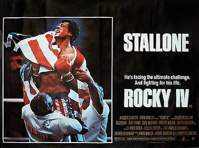 "Rocky 4 16"" x 12"" Reproduction Movie Poster Photo"
