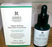 Kiehl's Nightly Refining Micro-Peel Concent 1oz 30ml