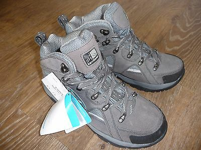 Karrimor Women's Mount Mid L Weathertite Pewter Walking Hiking Boots UK 6 NEW