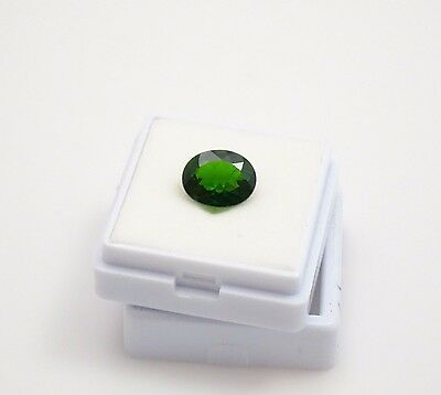 Beautiful Russian Chrome Diopside Oval - 8x10mm - 2.40ct - Loose Gemstone