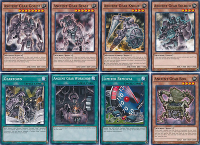 41 Cards Ancient Gear Deck| ORIGINAL* Ancient Gear Dragon/ Machine Deck Yugioh