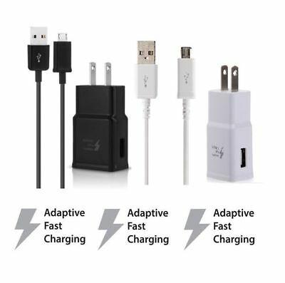 Adaptive Fast Rapid Wall Charger For Samsung Galaxy S6 S7 Edge Note 4 Note 5