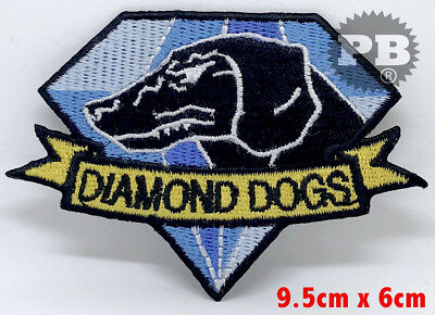 #2202 Fox Hound Diamond Dogs Metal Gear Solid Big Boss Snake Embroidered Patch