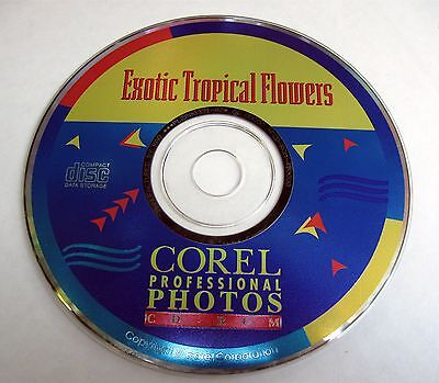 Exotic Tropical Flowers Corel Professional Photos CD Rom PCD Format 100 High Def