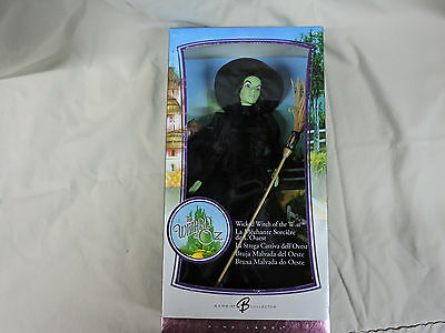 The Wizard of Oz WICKED WITCH 2006 Barbie Doll