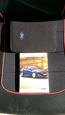 Genuine Ford Focus Handbook Owners Manual 2014-2017 Book Pack And Wallet