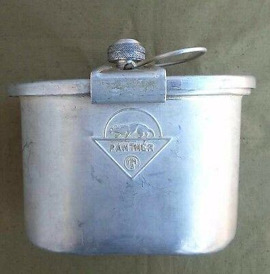 WWII WW2 Aluminium Food Storage Container  German Army 100% Original