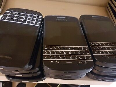 LOT OF 10 Blackberry bold Q10 Sqn100-1 Bulk WHOLESALE phone Good Working Clean
