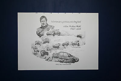Colin McRae Official Limited Edition print