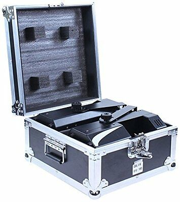 BoomTone DJ - Flight-case per 2 Dymano Scan LED, colore: nero (X3w)