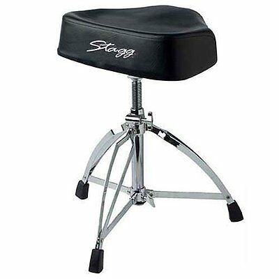 Stagg DT-220 Pro Motorcycle Throne (Vinyl Top) (L2O)