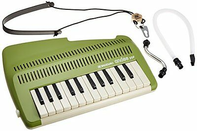 Suzuki A-25F 25-Key Andes Recorder-Keyboard w/ Mouthpiece and Strap (j8K)
