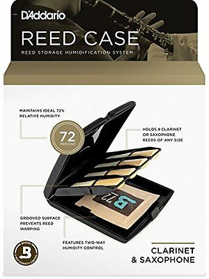 Rico Multi-Instrument Reed Storage Case with Humidity Control Pack for (D5o)