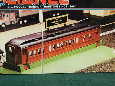Lionel Vintage Rail Yard - Roadside Dinner # 6-12802 Nib Smoke & Lights!!