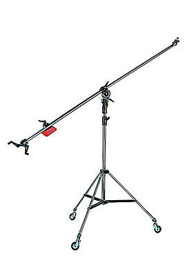 Manfrotto 025B Black Light Boom (Stand Included) includes *standard road freight